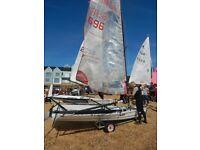 Blaze Mk2 Sail No 696.