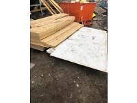 Plywood sheets / fire board sheets