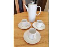 White Thomas Coffee Set