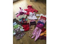 Baby Girls Clothes Bundle 3-12months