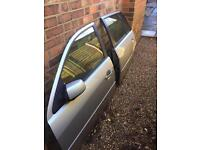 Ford mondeo mk3 tdci estate doors near side in stardust silver complete