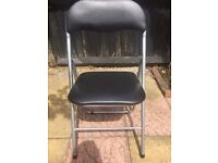 4 Leather Chairs