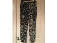 Top Shop Lightweight Trousers - Size 12