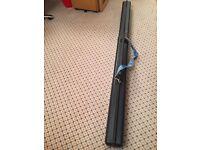 KIS Ski Tube Sportube S2, Fishing Rod Ski Carrier, Case - black