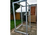 Fitness weight rack
