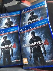Unchartered 4 Brand New Sealed