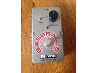 EHX Bassballs Guitar Bass Effect
