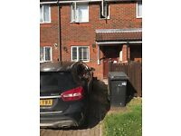 Home swap Homeswapper 2 bed terraced house with garden & drive in Cricklewood for 3 bed homeswap