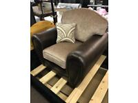 BRAND NEW LARGE COMFY ARMCHAIR