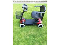Days Strider ST1 Mobility Scooter 4 mph foldable lightweight new batteries, part exchange welcome