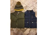 Boys next jacket and gillet 12-18 months