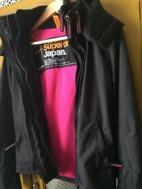 Superdry Women Black Jacket size S