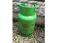 Patio gas bottle