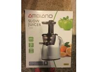 Ambiano slow juicer