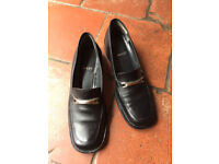 Black Bally Loafers, size 6 1/2 (40)