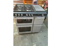 There is for sale NewHome 80cm DUAL FUEL RANGE COOKER in good working order