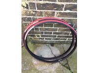 Racer bike 🚲 Vittoria 3D Compound, Red black