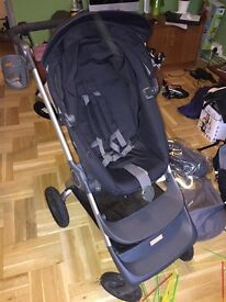 Stokke V2 Scoot Pram with original covers and baby winter softbag