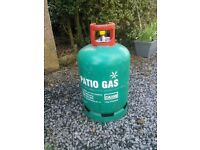 Full Calor patio heater or bbq gas cylinder bottle