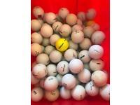 Bag of approx. 100 Golf balls