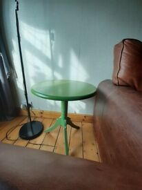 Green small table