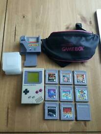 Original gameboy and games