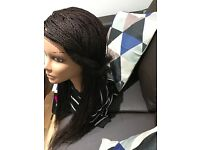 Lace Front Braided Lace Wig Million Braids