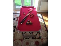 Pool Table for Children