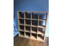IKEA kallax/expedit storage unit shelves in pine - £20 reduced from £30