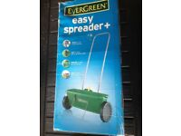 BRAND NEW Garden Lawn Spreader for Seed or Grass Feed. Evergreen Easy Spreader