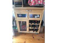 Small kitchen trolley/wine rack