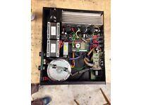 Black Box AV A400S Professional Power Amplifier, very powerful.