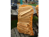 FIRE WOOD GOOD QUALITY - LARGE 9-10 KG SACKS - KINDLING WOOD PLENTY FOR SALE