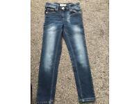 Next girls skinny jeans bundle age 7