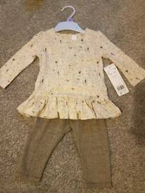 3-6 months baby girl outfit BNWT