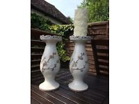 Laura Ashley Candle Holders