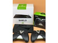 NVIDIA Shield TV 16 GB Media Streaming Device with 2 Controllers