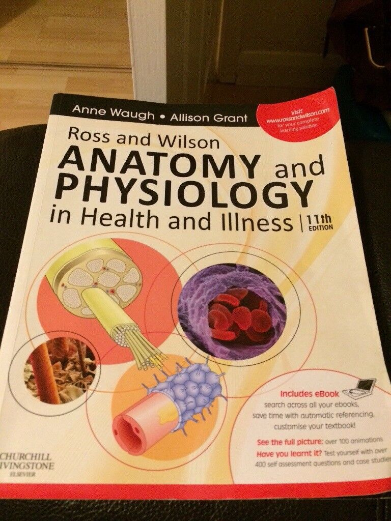 Ross and Wilson Anatomy and Physiology in Health and Illness, 11th ...