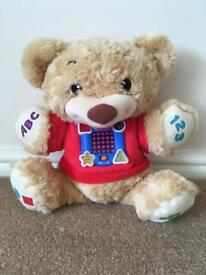 Fisher price laugh and learn teddy bear