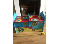 Thomas the tank engine and friends wooden storage box / seat