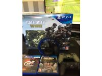 PS4 Limited edition 1TB including controller, games and accessories