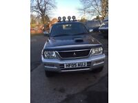 VERY RARE MITSUBISHI L200 2.8 AUTOMATIC BULLET PROOF ENGINE 05,25 FEB,TAXED APRIL