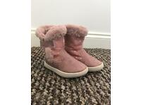 Girls boots (infant size 5)