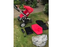 Quinny buzz 3 pushchair with extras