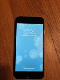 iPhone 6 Space Grey - Unlocked - Original Box, Headphones and Charger