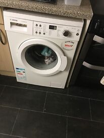 Bosch washing machine and Zanussi dryer