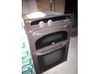 Gas double oven and separate gas hob - MAKE ME AN OFFER