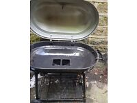 Trolley charcoal barbecue with lid 90cm x 50cm Huddersfield, West Yorkshire