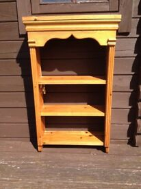 3 Shelf Pine Unit