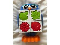 Tomy baby toddler owl puzzle